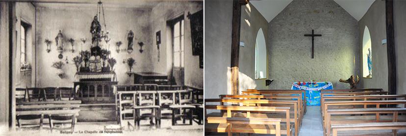Chapelle-Avant-Après